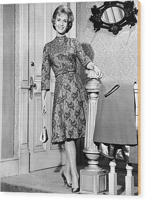 Debbie Reynolds In A Travilla-designed Wood Print by Everett
