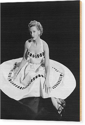 Deborah Kerr, 1954 Wood Print by Everett