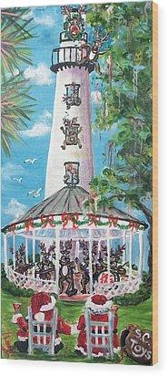 December 26th  Wood Print by Doralynn Lowe