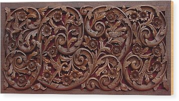 Decorative Panel - Spring Wood Print by Goran
