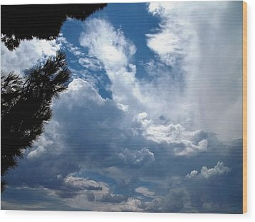 Deep Skies Wood Print by Glenn McCarthy Art and Photography