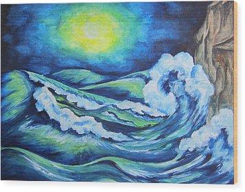 Deep Water - Wcs Wood Print