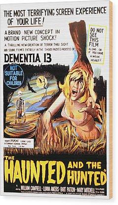 Dementia 13, Aka The Haunted And The Wood Print by Everett