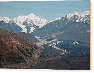 Wood Print featuring the photograph Denali National Park by Gary Rose