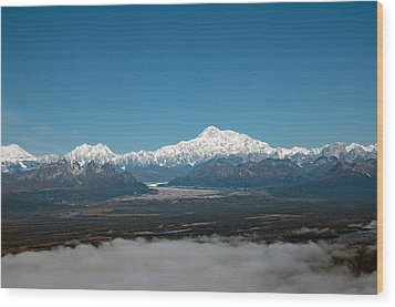Wood Print featuring the photograph Denali Park by Gary Rose