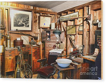 Dentist - The Dentist Office Wood Print by Paul Ward