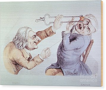 Dentistry Tooth Extraction 1810 Wood Print by Science Source