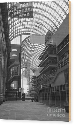Denver Center For Performing Arts Wood Print by David Bearden
