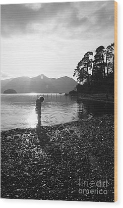 Wood Print featuring the photograph Derwent by Linsey Williams
