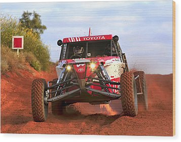 Wood Print featuring the photograph Desert Buggy by Paul Svensen