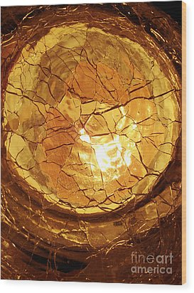 Desert Sunrise Wood Print by Mark Holbrook