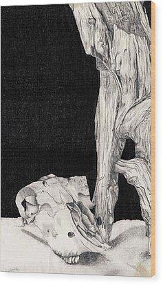 Deserted Wood Print