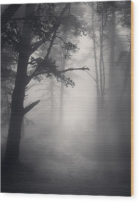 Desire Realized Wood Print by Mark Singles