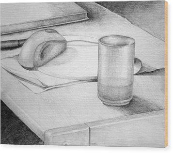 Desk Wood Print by Morka Mold