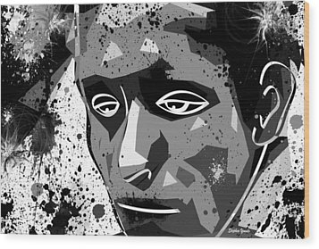 Despair Wood Print by Stephen Younts