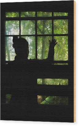 Desperate Ways Wood Print by Evelina Kremsdorf