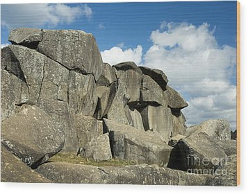 Devil's Den Formation 42 Wood Print by Paul W Faust -  Impressions of Light