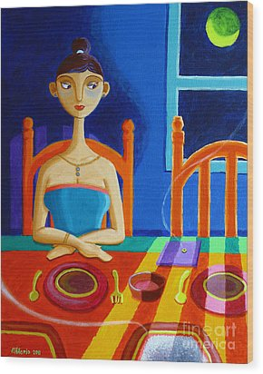 'di Parang Kaning Mainit Wood Print by Paul Hilario