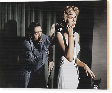 Dial M For Murder, From Left Anthony Wood Print by Everett