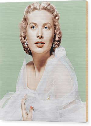 Dial M For Murder, Grace Kelly, 1954 Wood Print by Everett
