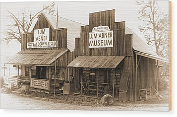 Dick Huddleston Store Est. 1909 Wood Print by Douglas Barnard