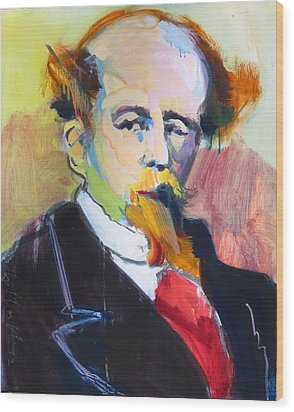 Dickens Wood Print by Les Leffingwell