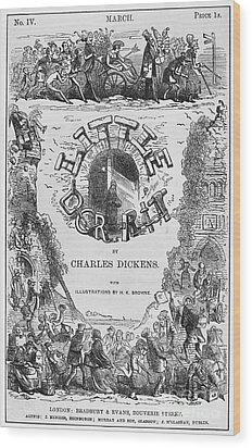 Dickens: Little Dorit Wood Print by Granger