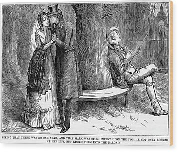Dickens: Martin Chuzzlewit Wood Print by Granger