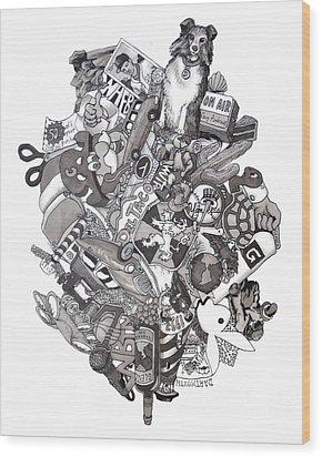 Difrancesco Legacy Wood Print by Tyler Auman