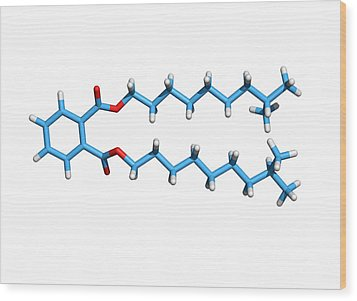 Diisodecyl Phthalate Wood Print by Dr Tim Evans