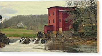 Dillard Mill 2 Wood Print by Marty Koch