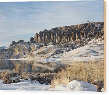 Wood Print featuring the photograph Dillon Pinnacles II by Marta Alfred