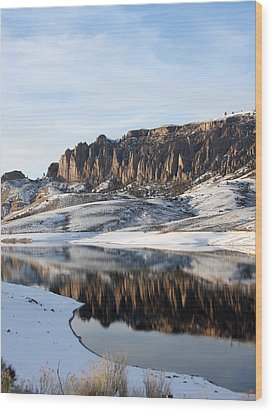 Wood Print featuring the photograph Dillon Pinnacles  by Marta Alfred