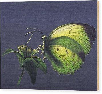 Dina Yellow Wood Print