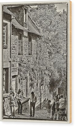 Wood Print featuring the photograph Dinan Antique II by Jack Torcello