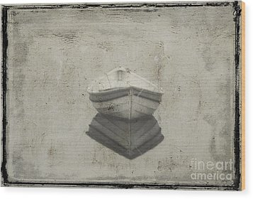 Dinghy Wood Print by Jim Wright