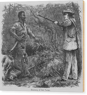 Discovery Of Nat Turner 1800-1831 Wood Print by Everett