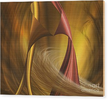 Wood Print featuring the digital art Do You Wanna Dance by Johnny Hildingsson