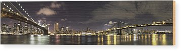 Doble Puente Wood Print by Alex Ching