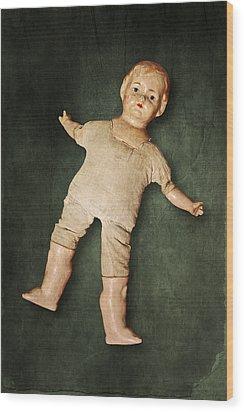 Doll Wood Print by Joana Kruse