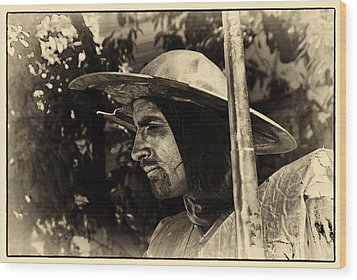 Wood Print featuring the photograph Don Quixote Antique by Rick Bragan