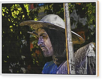 Wood Print featuring the photograph Don Quixote Color by Rick Bragan