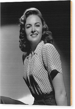 Donna Reed, 1944 Wood Print by Everett