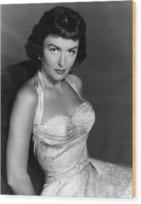 Donna Reed, Ca. 1950s Wood Print by Everett