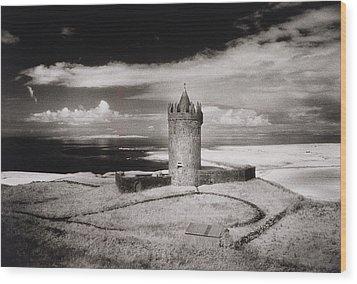Doonagore Tower Wood Print by Simon Marsden
