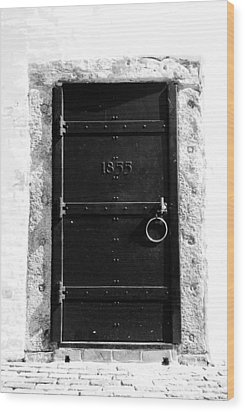 Door To Cape Florida Wood Print by David Lee Thompson