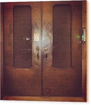 #door#photography#art#steampunk#prison Wood Print by Jenni Martinez