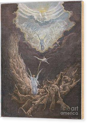 DorÉ: Last Judgment Wood Print by Granger