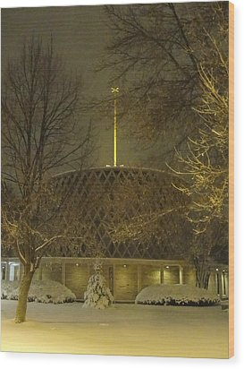 Wood Print featuring the photograph Dorcas Chapel by Tiffany Erdman