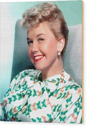 Doris Day, Warner Brothers, 1950s Wood Print by Everett